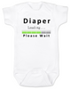 Daddy Diaper Tool Box, Diaper Loading Baby Onesie