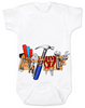 Daddy Diaper Tool Box, Tool Belt baby onesie
