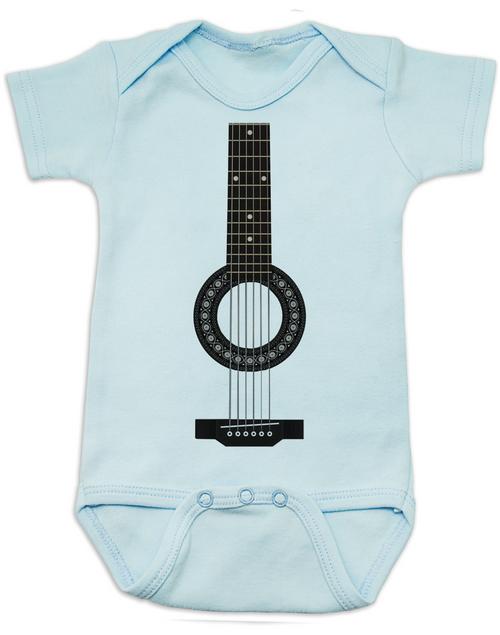 Acoustic Guitar Baby esie