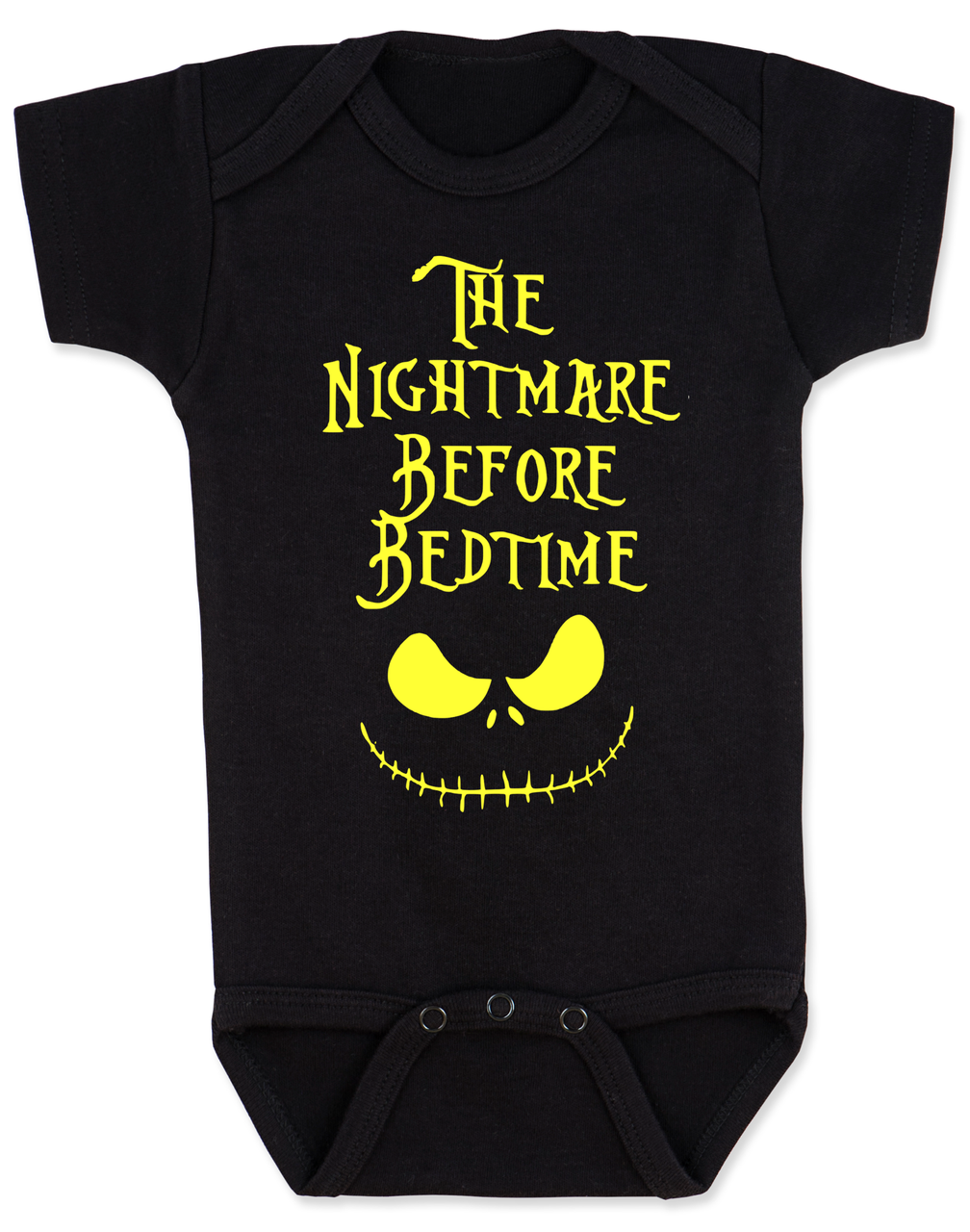 Nightmare Before Bedtime Baby Onesie