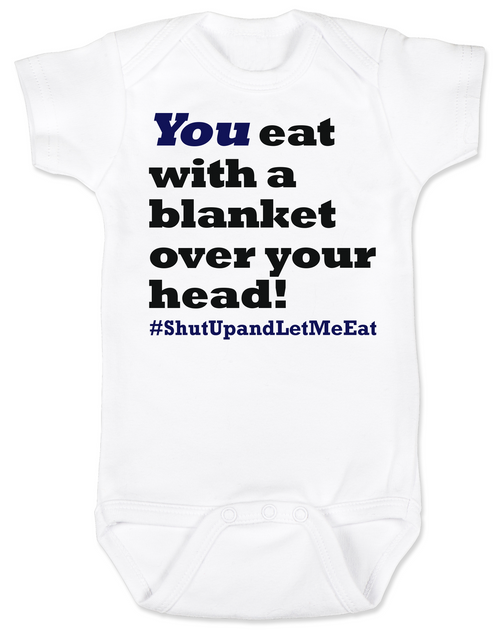 Funny Breastfeeding Baby Onesie