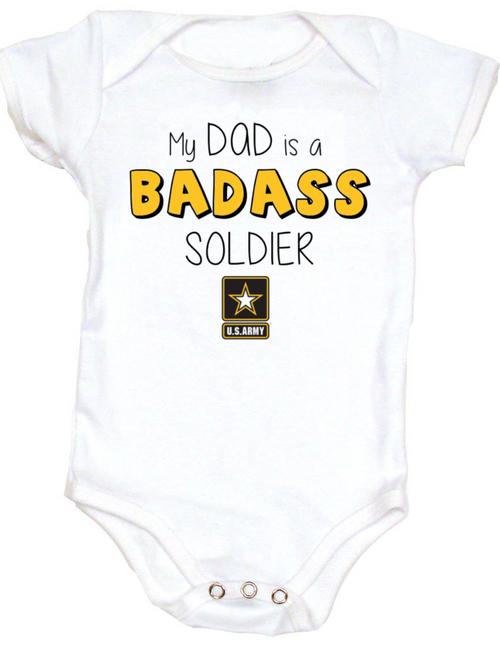 Badass Mom / Dad Baby Onesie
