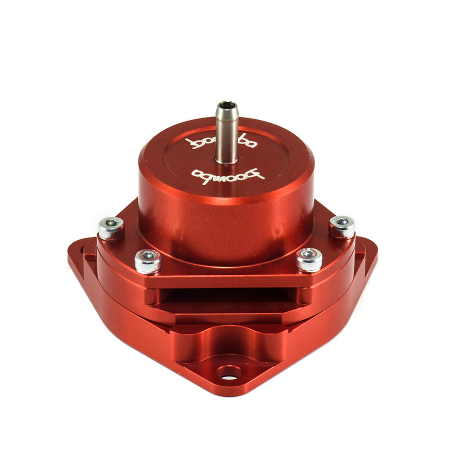Boomba Racing Red Bolt-On Blow Off Valve BOV for 2016 Honda Civic 1.5L Turbo