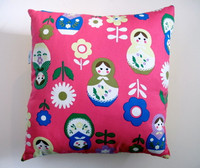 Cushion Cover - Babushka