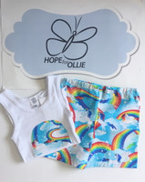 PJ Set - Rainbow Unicorns