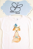 T-shirt (Feathered Fox)