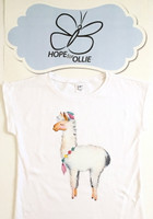 T-shirt (Llama with necklace)