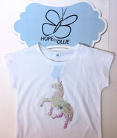 T-shirt (Reversible Sequin Unicorn)