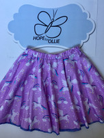 Skirt - Unicorns on Lilac