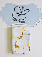 Baby Wrap - Yellow Giraffe