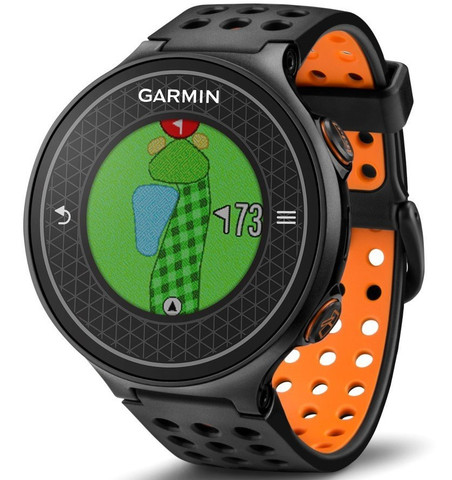 Garmin Approach S6 GPS Golf Watch (Black/Orange)