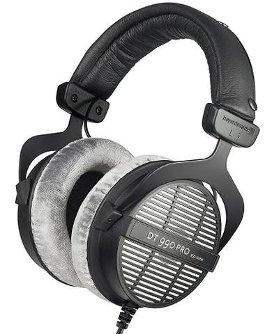 Beyerdynamic DT990 Pro Open Dynamic Headphone (250 ohm)