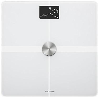 Nokia Body + Body Composition Wi-Fi Scale (White)