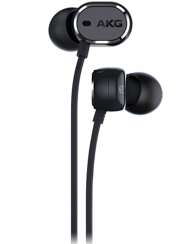 AKG N20NC In-Ear Headphones with Active Noise Cancelling (Black)