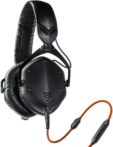 V-Moda Crossfade M-100 Over Ear Noise Isolating Metal Headphone (Matte Black Metal)