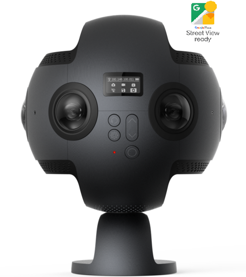 Maps 360.Insta360 Pro World First 8k Professional 360 Vr Camera Google Maps Street View Bundle