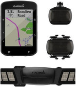 Garmin Edge 520 Plus Bike Computer Bundle (Includes Heart Rate Monitor, Speed/Cadence Sensors)