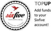 Sixfive Deposit / TopUp (TheraGun G3Pro)