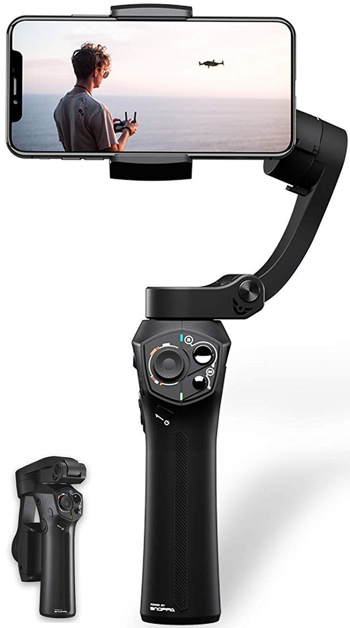 Snoppa Atom 3 Axis Foldable Gimbal (Black)