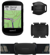 Garmin Edge 530 Bike Computer Bundle (Includes Dual Heart Rate Monitor, Speed and Cadence Sensors)