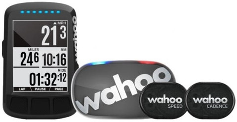 Wahoo Elemnt Bolt GPS Bike Computer Bundle (Gen 2)