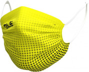 Ale Washable Face Mask (Dots Black Fluo Yellow)