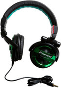 Pioneer Fully-Enclosed Foldable Dynamic Headphone (SE-MJ551-G Green)