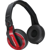 Pioneer Professional DJ Headphone (HDJ-500-R Red)