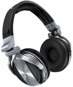 Pioneer Professional DJ Headphone (HDJ-1500-S Silver)