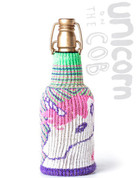 Freaker USA Unicorn On The Cob  Drink Insulator with Glitter Yarn