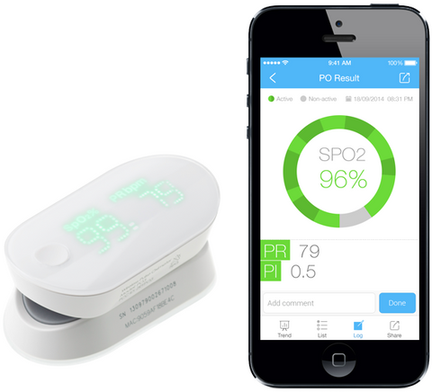 iHealth Air Pulse Oximeter (Apple and Android)