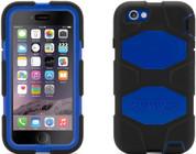 """Griffin Survival Case for iPhone 6 Plus (Black/Blue 5.5"""")"""