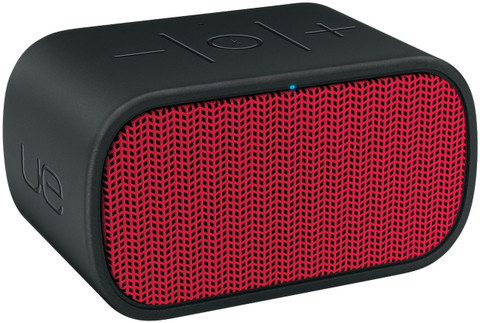 UE Mini Boom Wireless Bluetooth Speaker (Black/Red)