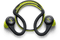Plantronics Backbeat Fit (Green)