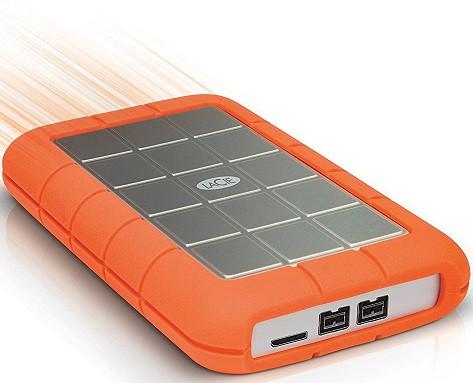 LaCie 2TB Rugged Triple Mobile Storage (FireWire 800 & USB 3.0)