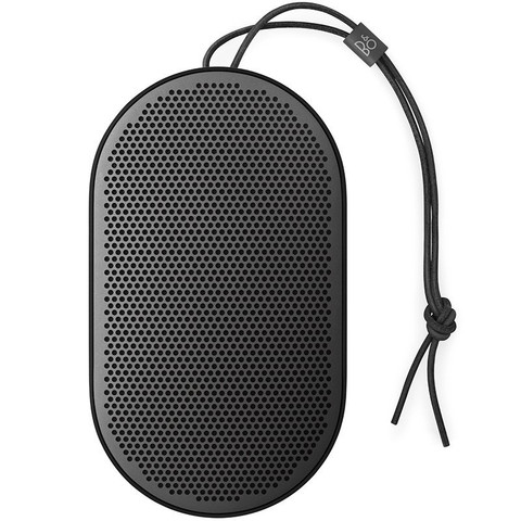 Beoplay P2 Portable Bluetooth Speaker with Built-In Microphone (Black)