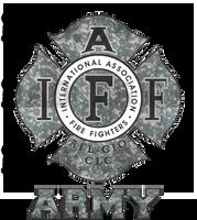 IAFF Army Shirt