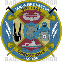 Tampa Fire Rescue Special Operations Shirt