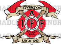 Tiverton Firefighters Local 1703 Decal