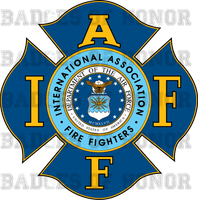 USAF IAFF Fire Protection Shirt