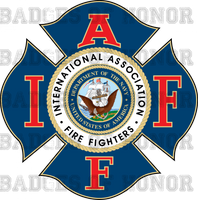 IAFF NAVY Decal