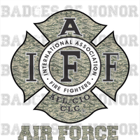IAFF USAFCAMO Decal