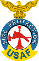 USAF Fire Protection  Decal