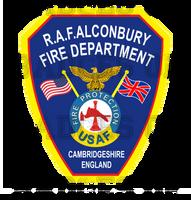 RAF Alconbury Decal