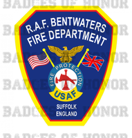 RAF Bentwaters Fire Protection Unoffical Shirt
