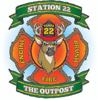 Tampa Fire Rescue Station 22 Shirt