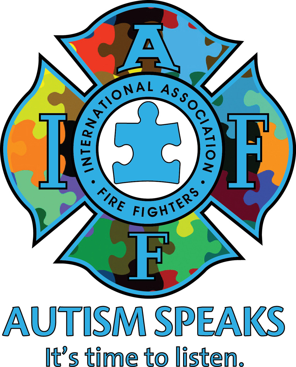 Iaff Autism Decal