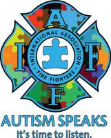 IAFF Autism Decal