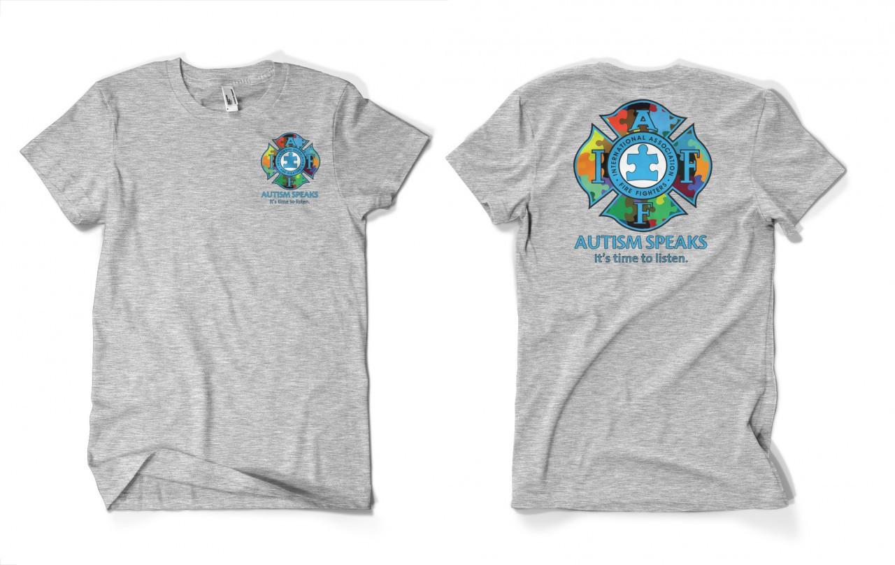 Iaff Autism Shirt