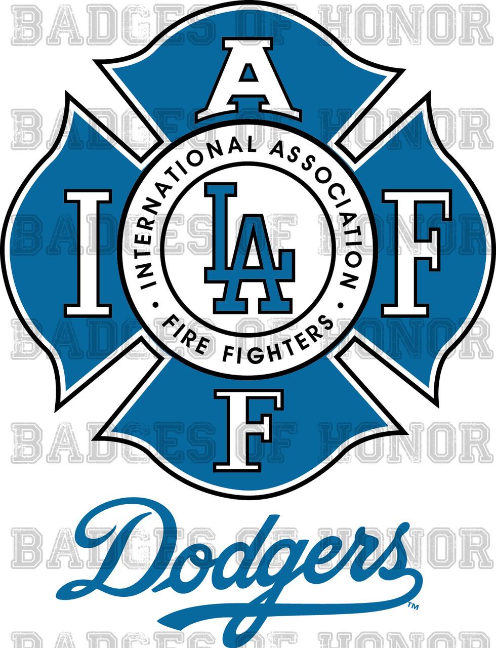 IAFF Baseball Decal